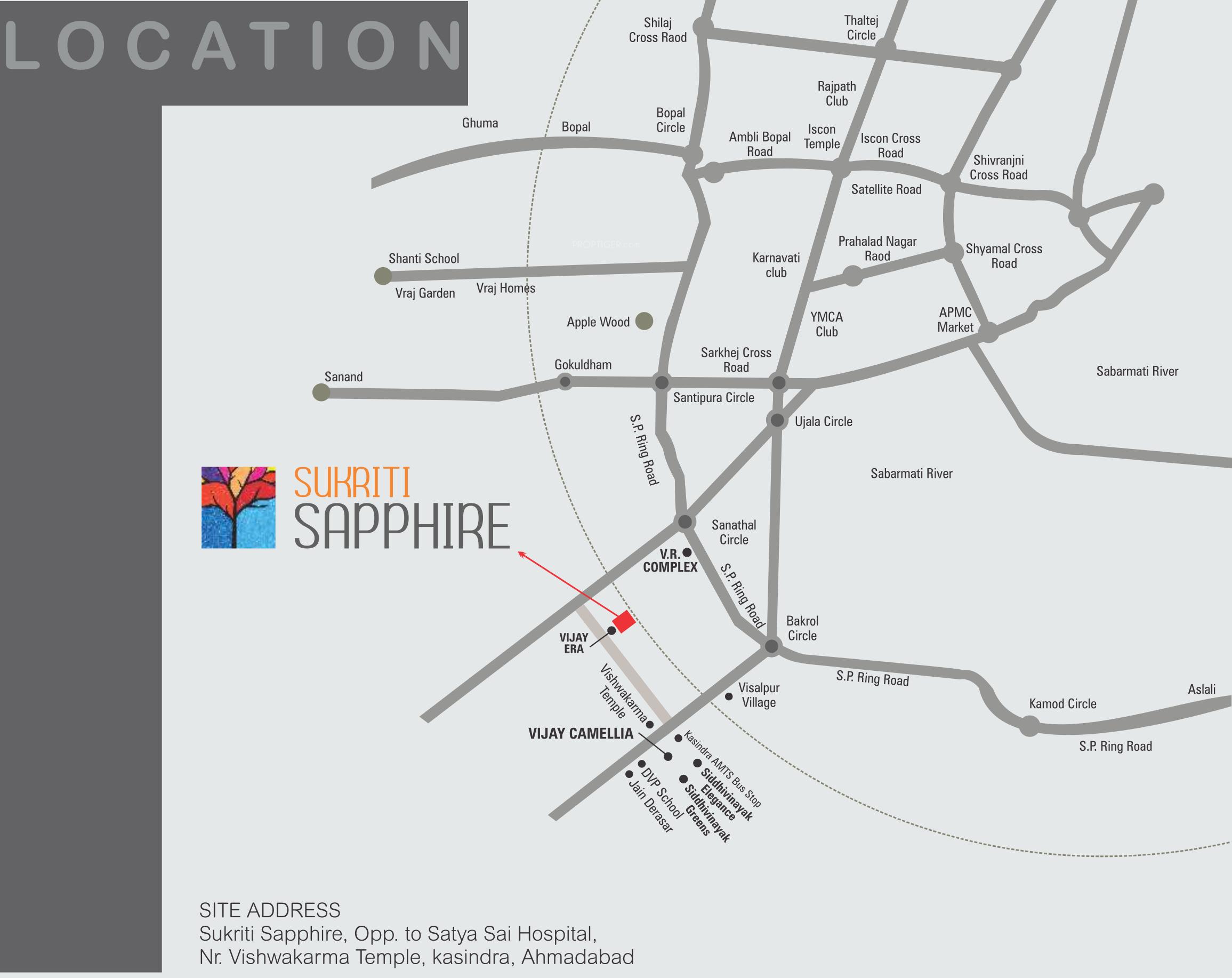 vijay sukriti sapphire in kasindra  ahmedabad