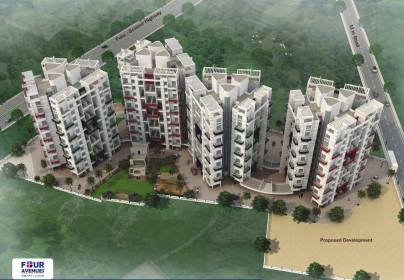 Images for Elevation of Ikon Four Avenues Wing C And D