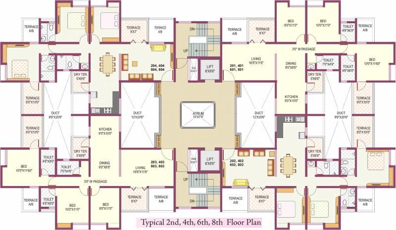 Images for Cluster Plan of Raj Kamal Villa II