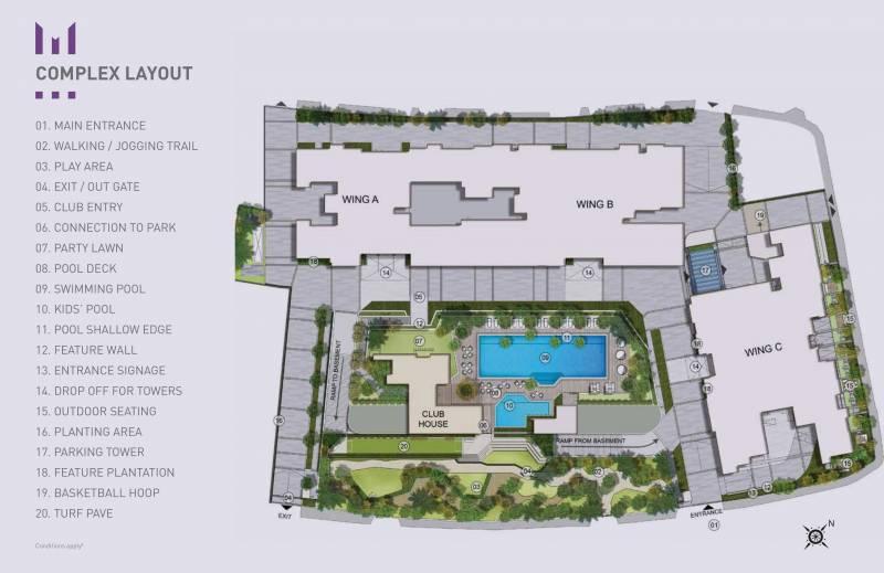 Images for Master Plan of Kalpataru Magnus