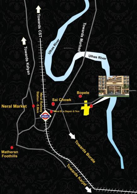 Images for Location Plan of Laxmi Castello Apartment