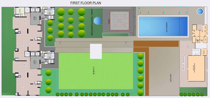 Images for Cluster Plan of Maithili Emerald Bay