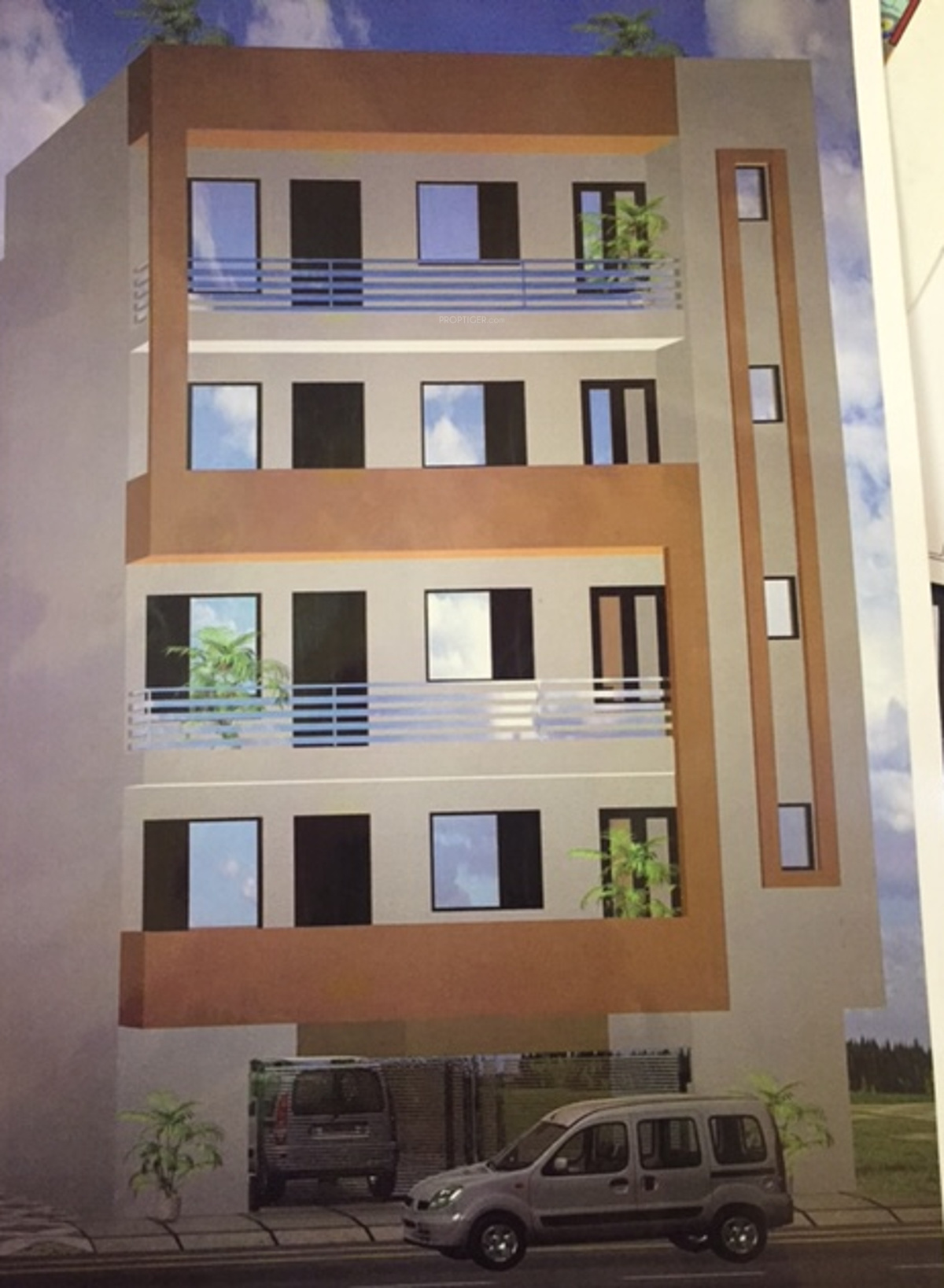 1000 Sq Ft 3 Bhk 3t Apartment For Sale In Flex Properties