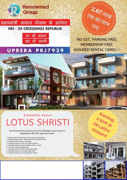 Images for Elevation of Renowned Srishti Premium Floor