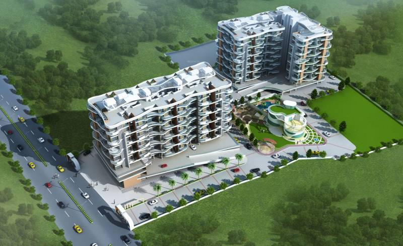 Images for Elevation of Vedant Kingston Atlantis A1 and A2 Building