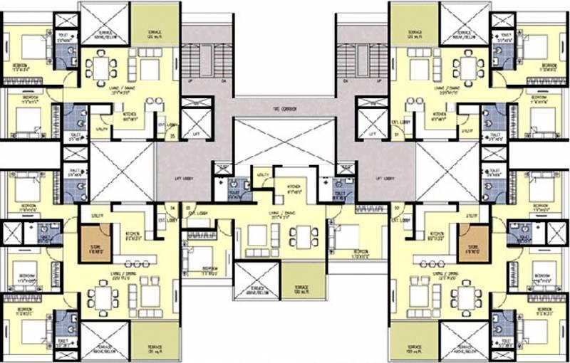 Images for Cluster Plan of Sanklecha Mango One B