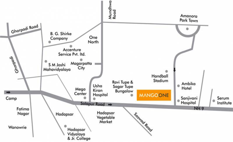 Images for Location Plan of Sanklecha Mango One B