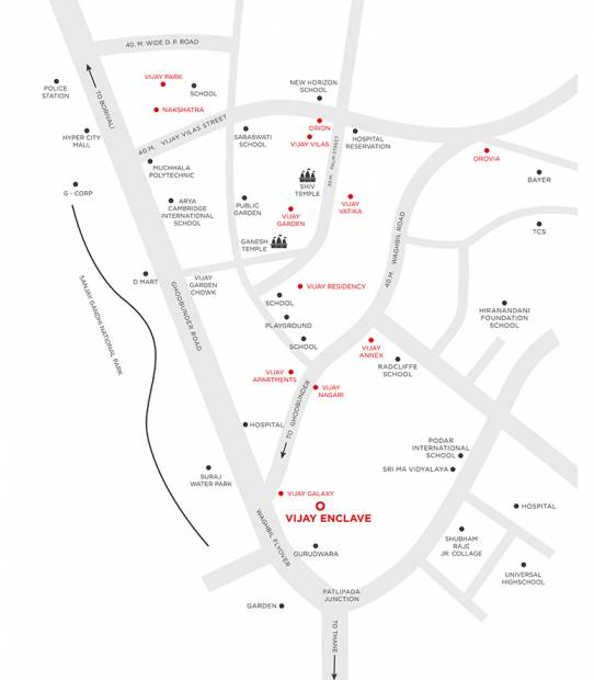 Images for Location Plan of Vijay Enclave