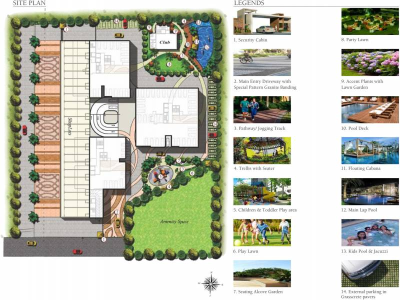 Images for Site Plan of Gagan Gagan Signet