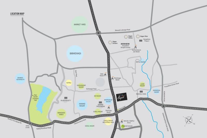 Images for Location Plan of Gagan Gagan Signet