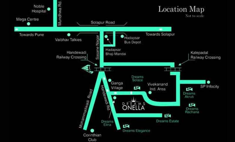 Images for Location Plan of Dreams Onella B wing