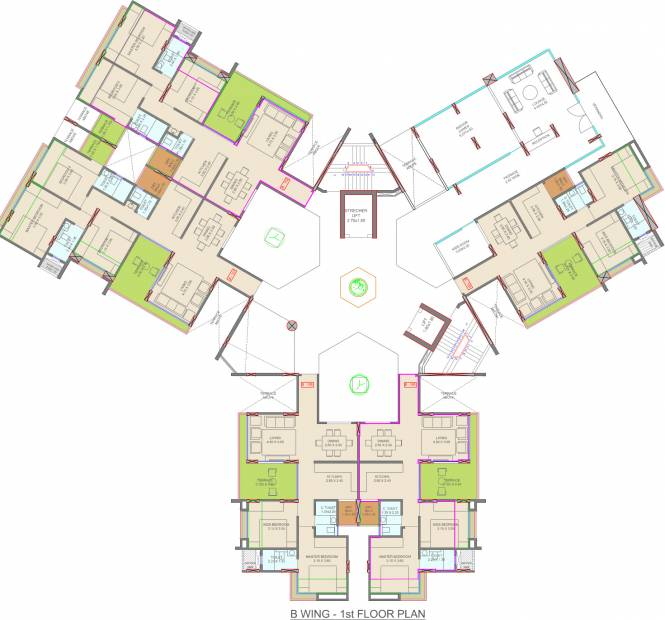 Images for Cluster Plan of  Courtyard One Phase 1