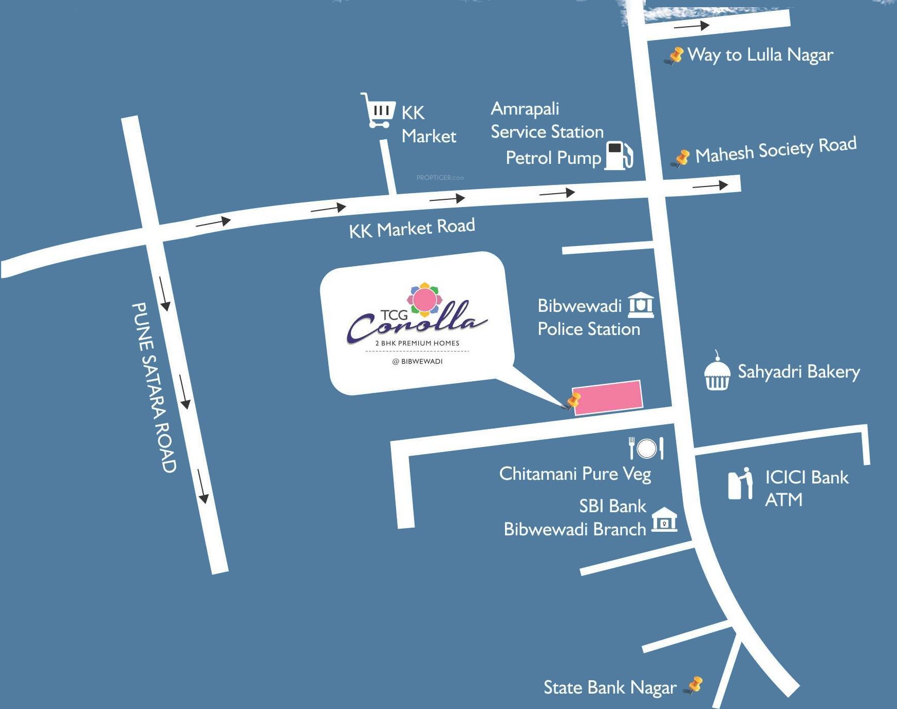 The TCG Corolla in Bibwewadi, Pune - Price, Location Map, Floor Plan ...