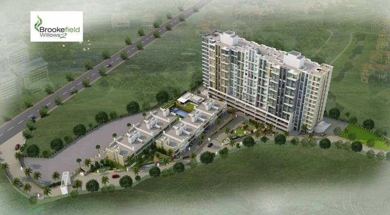 Images for Elevation of Nirman Brookefield Willows Apartment