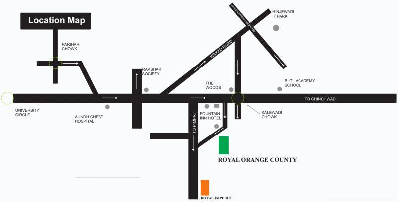 Images for Location Plan of Orange Royal Orange County F Wing