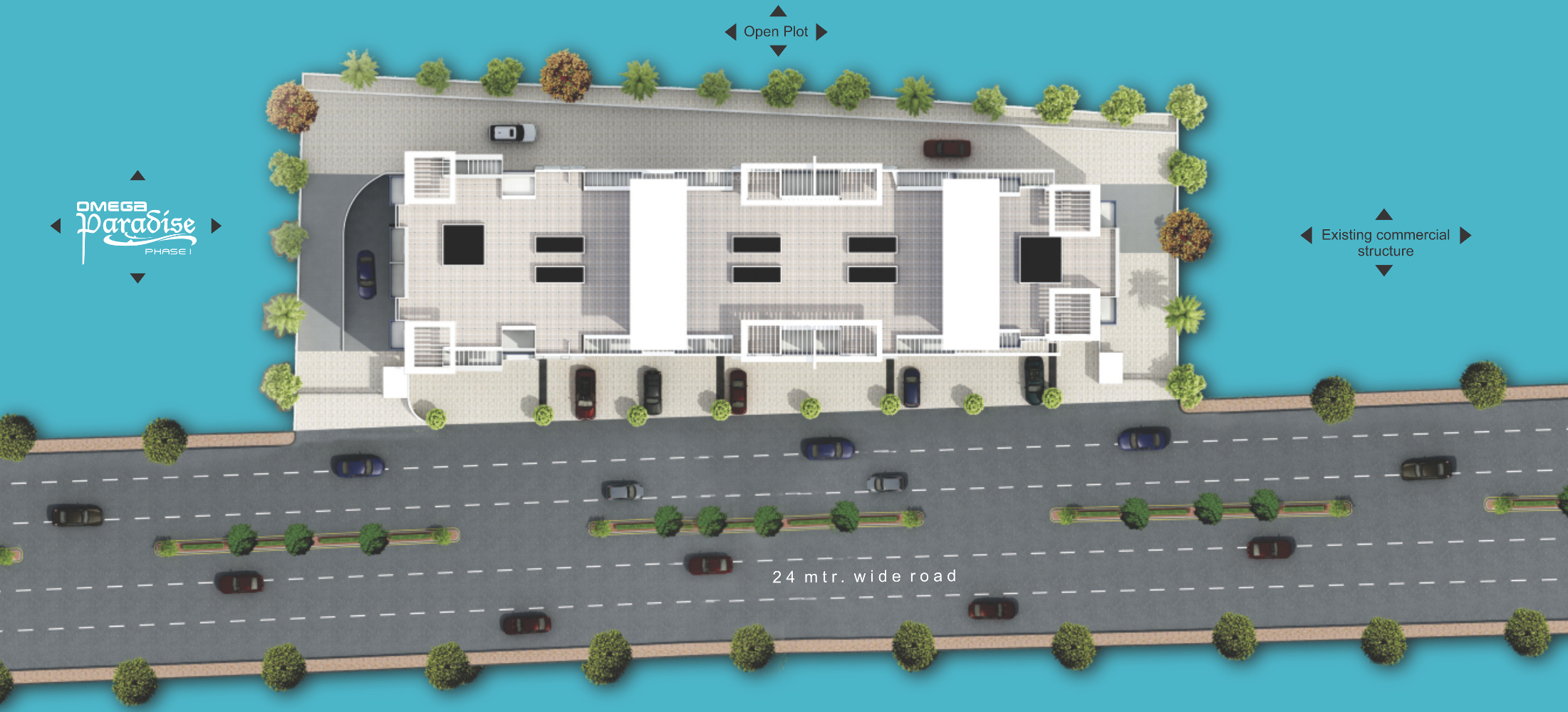 Garve Omega Paradise Wing L Phase 2 In Wakad Pune Price