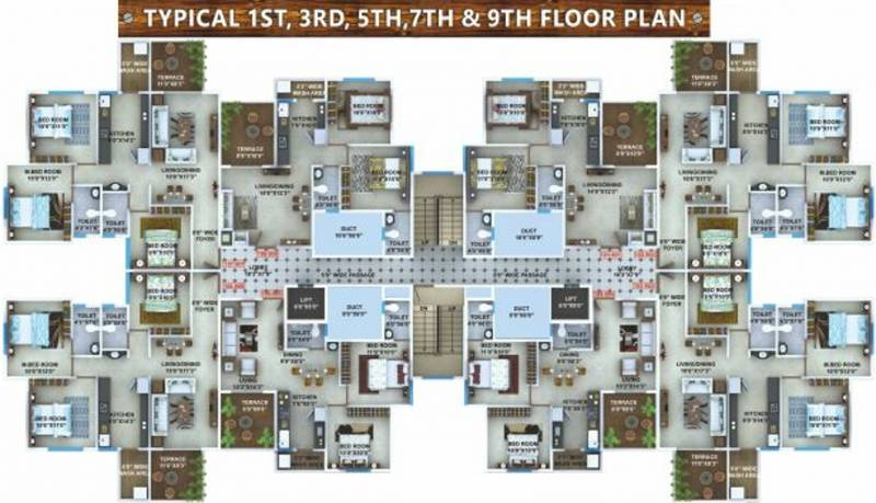 Images for Cluster Plan of Sky Kasturi Heights