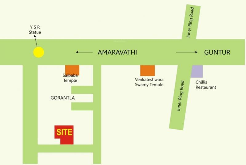 Images for Location Plan of RK Sai Soudha