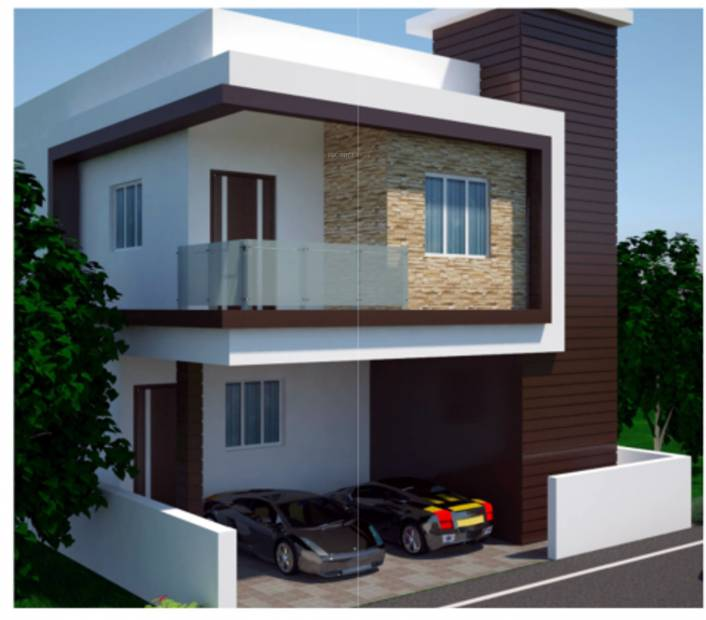 Main elevation image 6 of ard estates saavan villas unit for Ashoka ala maison kompally