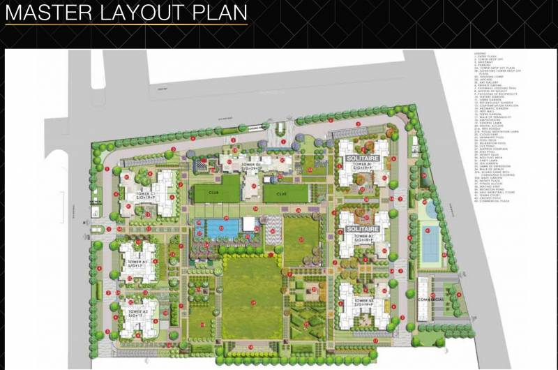 Images for Master Plan of Godrej Solitaire at Godrej Nest