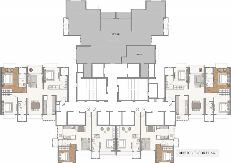 Images for Cluster Plan of Piramal Revanta Tower 2