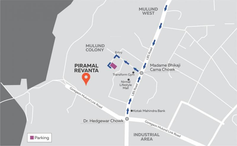 Images for Location Plan of Piramal Revanta Tower 2