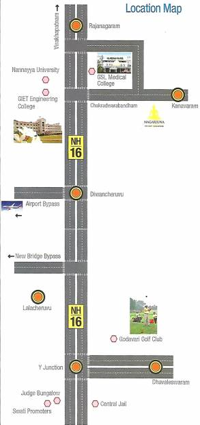 Images for Location Plan of Swathi Nagarjuna Township