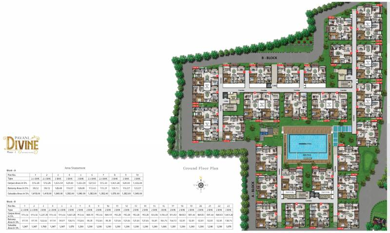 Images for Layout Plan of Pavani Divine