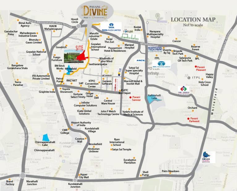 Images for Location Plan of Pavani Divine