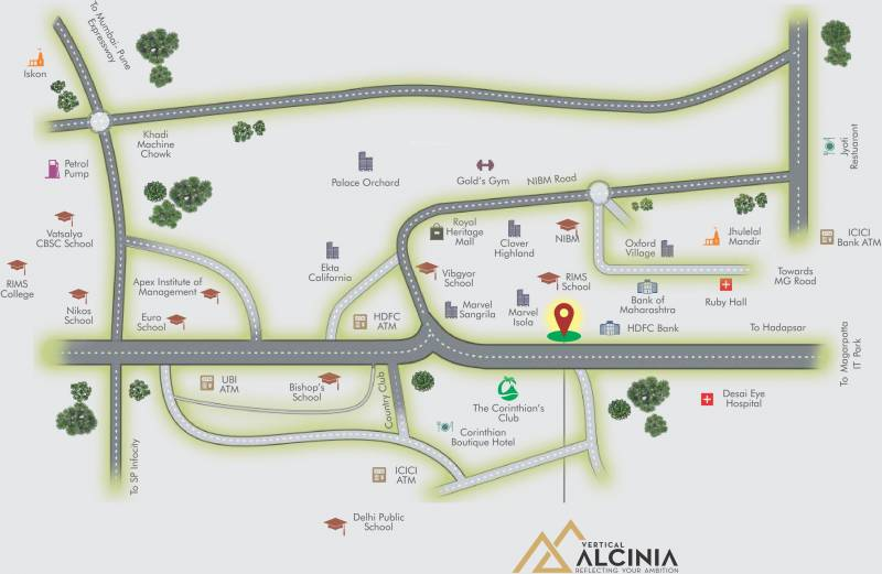 Images for Location Plan of Vertical Alcinia Phase III