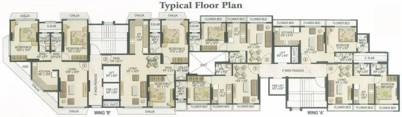 Images for Cluster Plan of Rachana Nehru Nagar Ekta CHSL