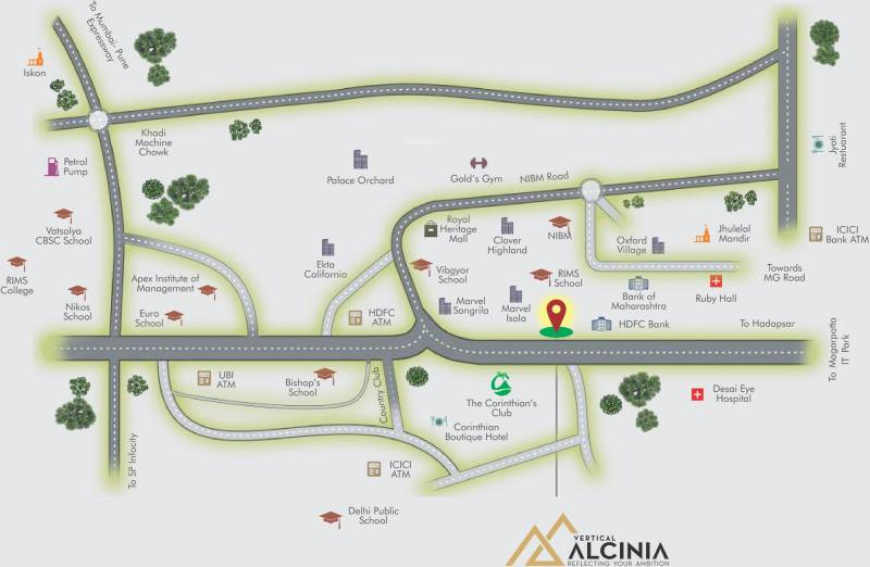 Images for Location Plan of Vertical Alcinia Phase II