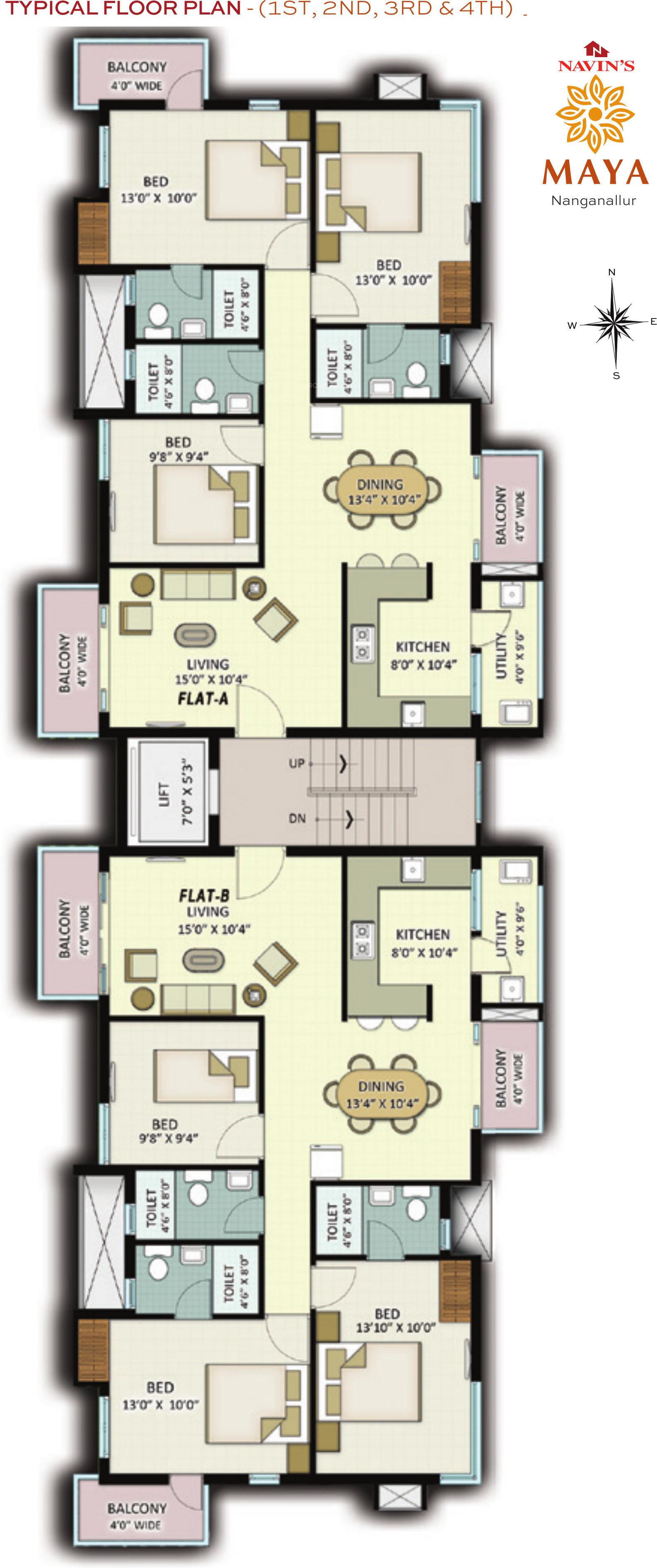 Brilliant Navin Maya In Nanganallur Chennai Price Location Map Download Free Architecture Designs Itiscsunscenecom
