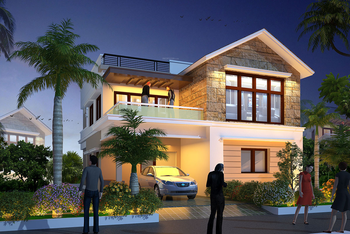 Home Luxury Lifestyle: 2553 Sq Ft 3 BHK 3T Villa For Sale In Subishi Developers