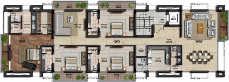 Images for Cluster Plan of Casagrand Amarante