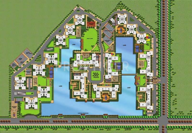 Images for Layout Plan of Adani Water Lily