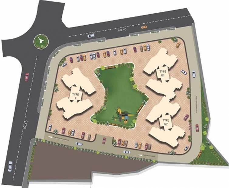 Images for Layout Plan of Ajmera New Era Yogidham Phase IV Tower C