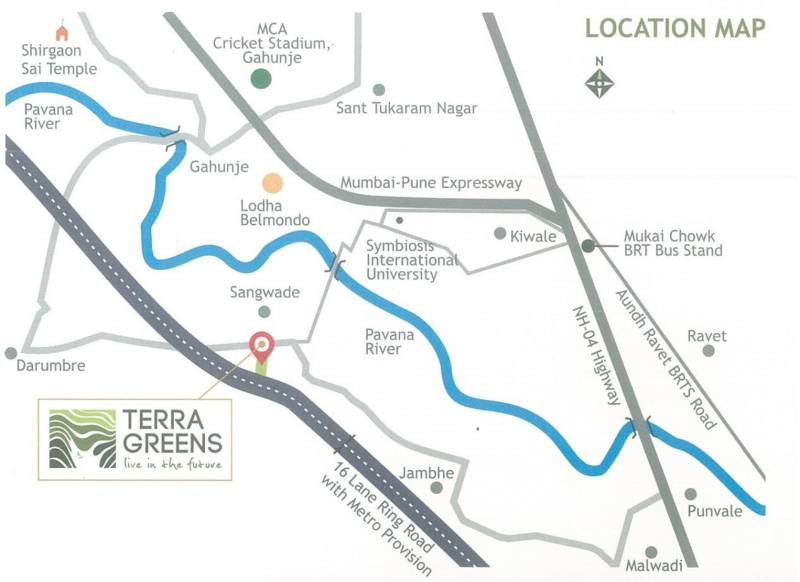 Images for Location Plan of Bhagwati Terra Greens