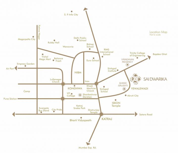Images for Location Plan of Maa Sai Dwarka Phase 3