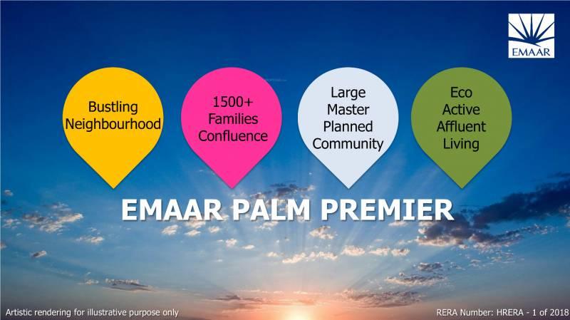 Images for Elevation of Emaar Palm Premier