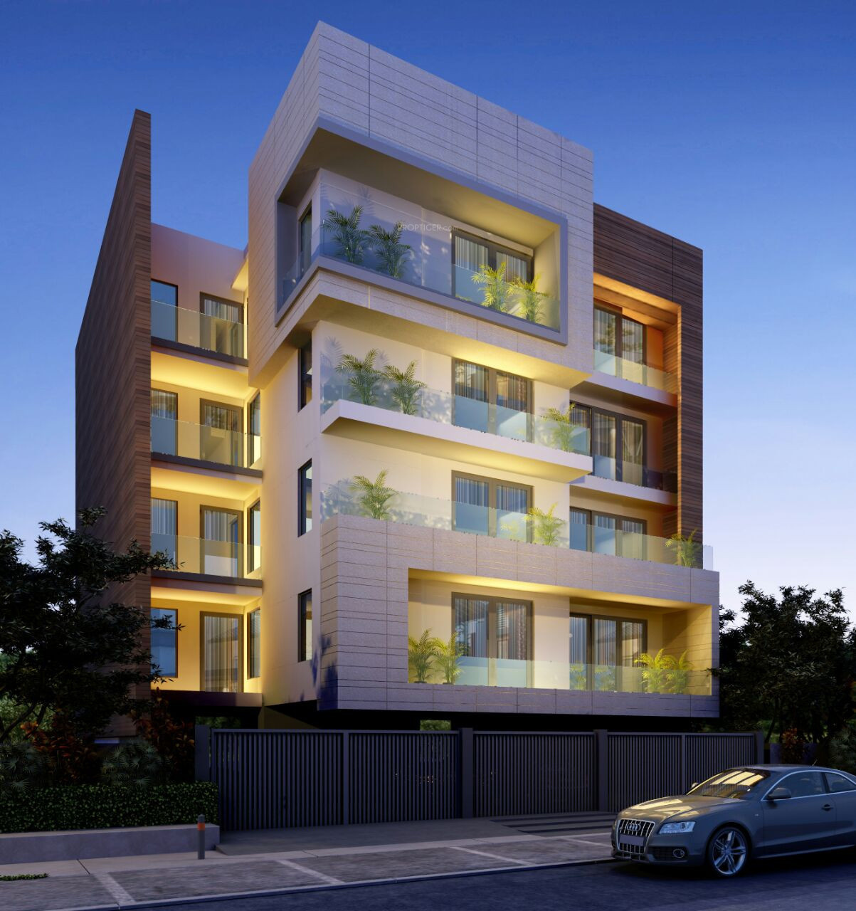 Timber Run Apartments: 2000 Sq Ft 4 BHK 5T Apartment For Sale In India Property