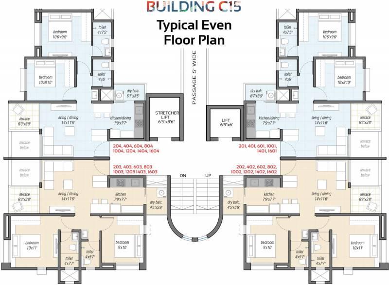 Images for Cluster Plan of Sampada Little Earth Masulkar City Phase 3