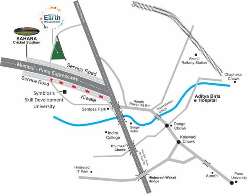 Images for Location Plan of Sampada Little Earth Masulkar City Phase 3