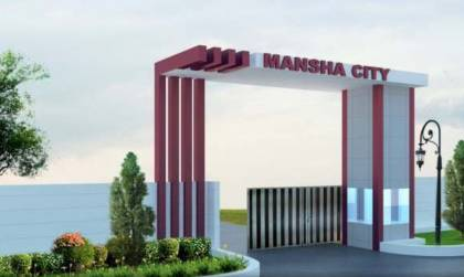 Images for Elevation of Mansha City