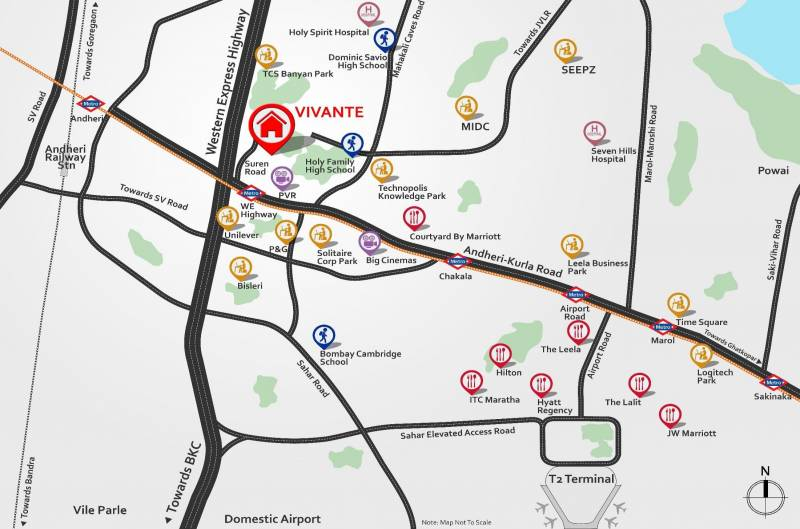 Images for Location Plan of Mahindra Vivante Building Number 1 And 2