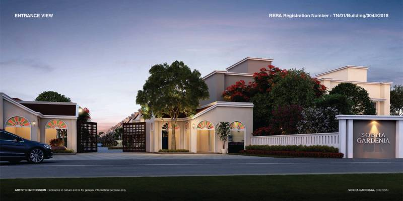 Images for Elevation of Sobha Gardenia