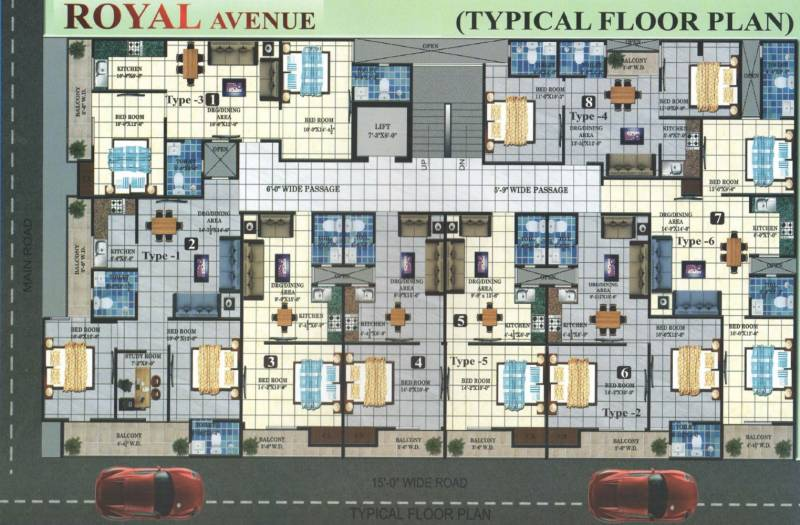 Images for Cluster Plan of Nehra Royal Avenue