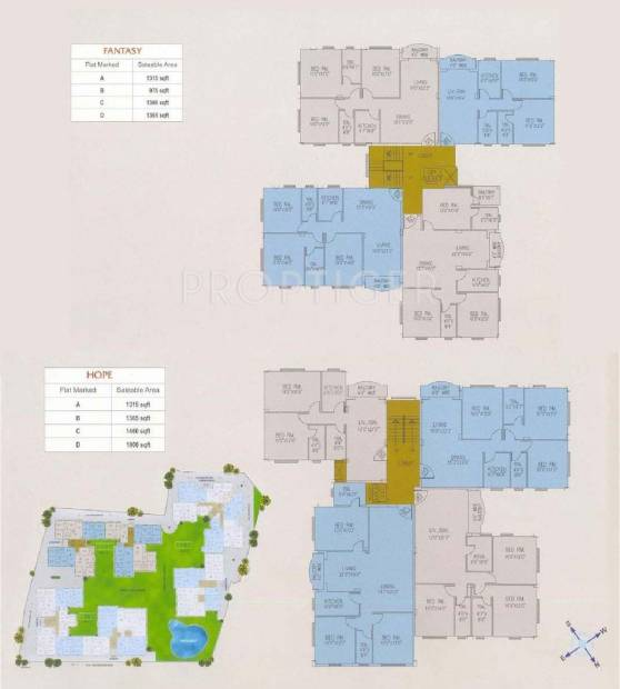 Images for Cluster Plan of Jain Dream Excellency