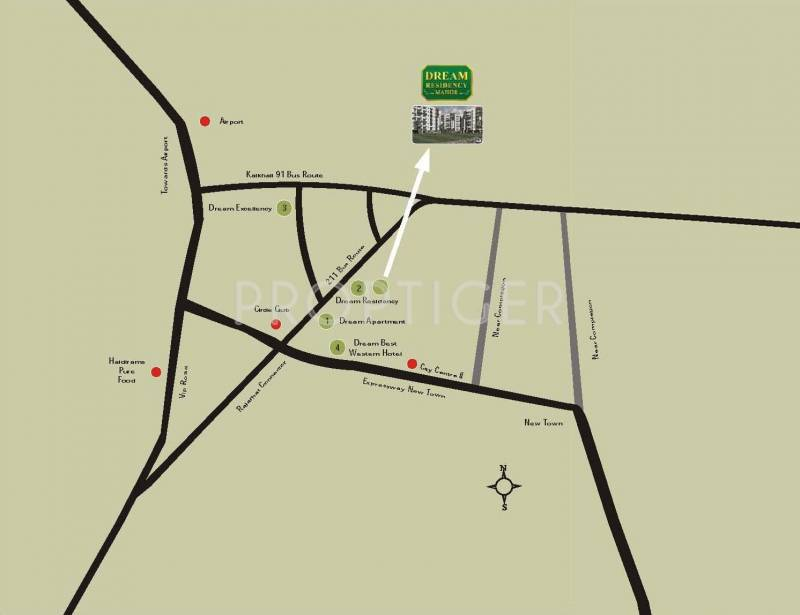 Images for Location Plan of Jain Dream Residency Manor