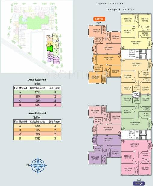 Images for Cluster Plan of Jain Dream Residency